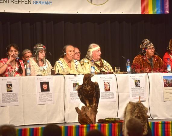 Mutter Erde braucht Hilfe – öffentlichen Ratssitzung 2019 in Blumau